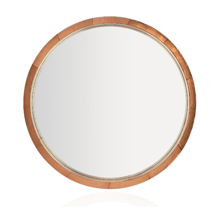 copper frame mirror round dwell : 700 142798 from dwell.co.uk size 700 x 700 jpeg 148kB