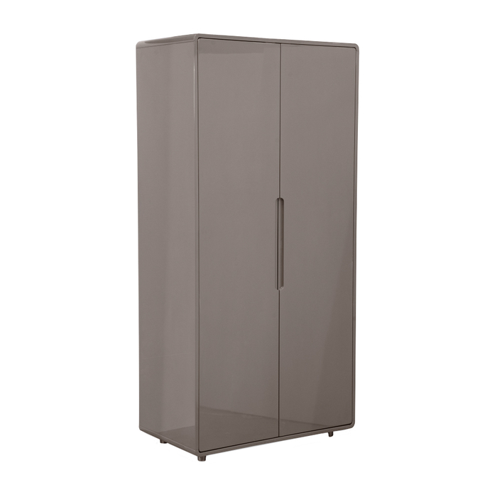 Notch wardrobe two door stone