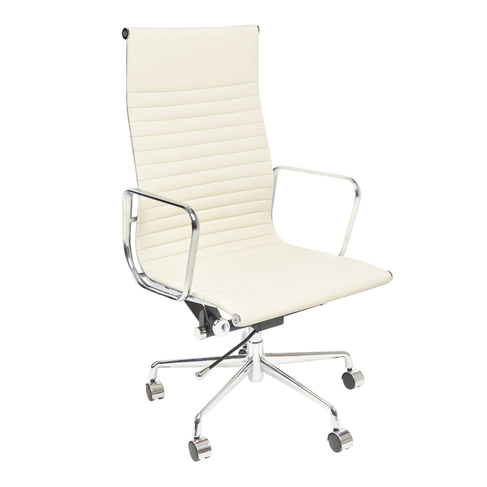 Nexus tall back home office chair off white