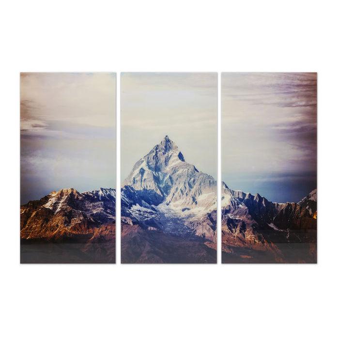 Matterhorn glass art