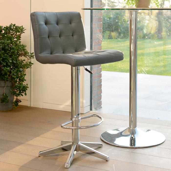 Hadley bar stool grey