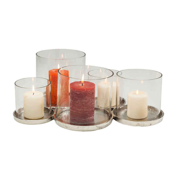 Circles multi lantern candle holder