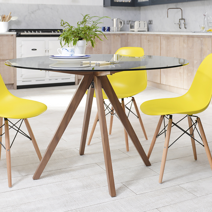 Compass 4 seater dining table