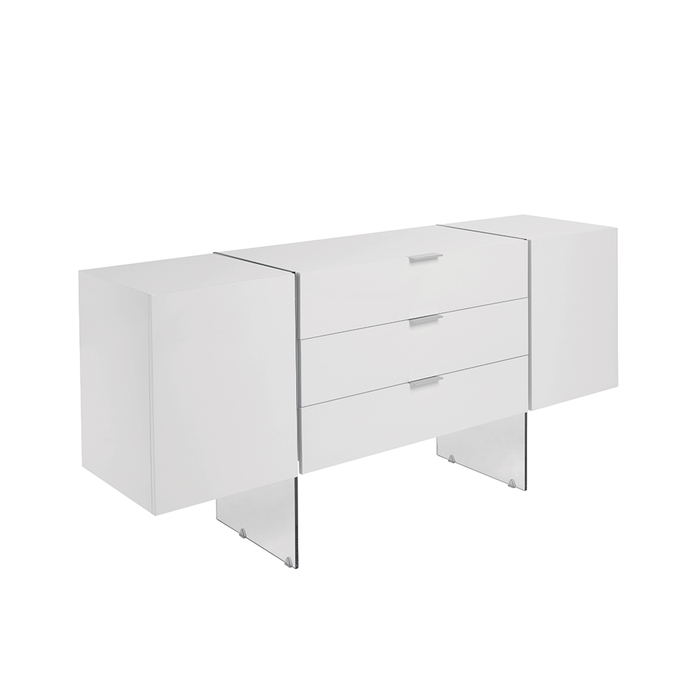 Treble sideboard white