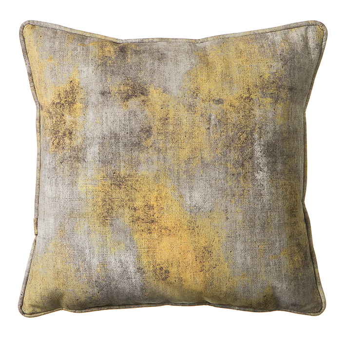 Glare cushion yellow