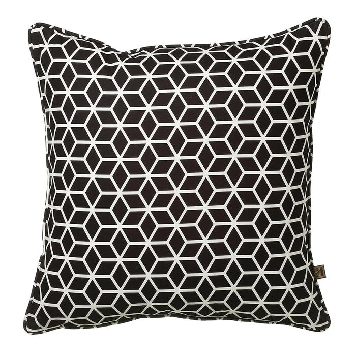Hexa cushion black