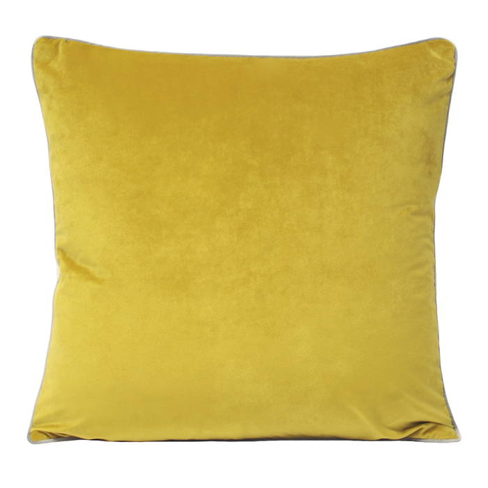 Meridian Cushion Yellow Dwell