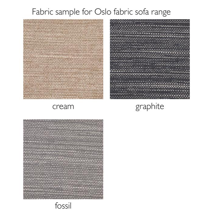 Fabric sample for Oslo Fabric sofa range