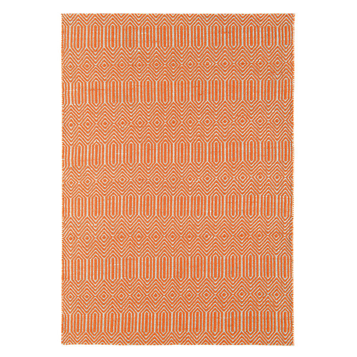 Tunis rug large orange