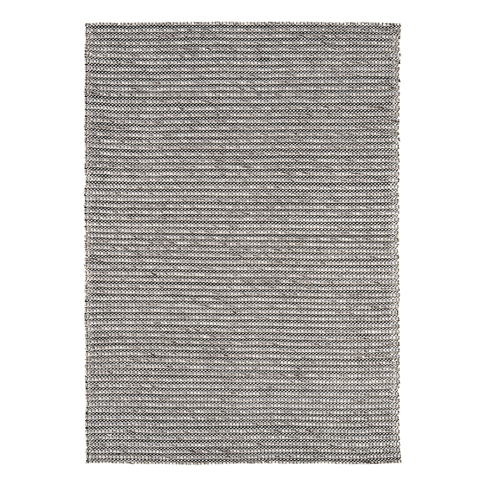 Fuse rug large silver