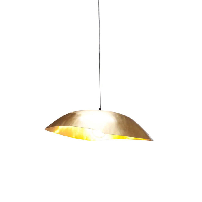 Canopy pendant light gold