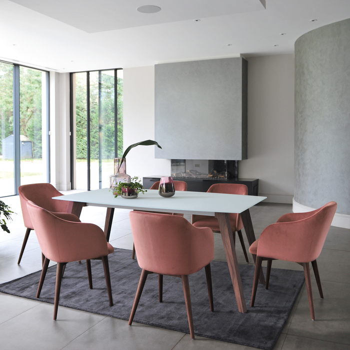 Barca 6 seater dining table
