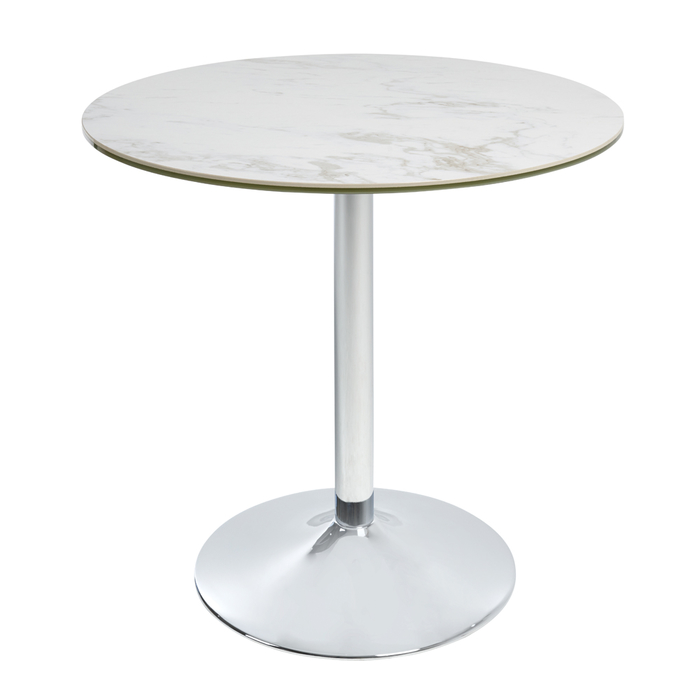 Palermo marble effect ceramic dining table