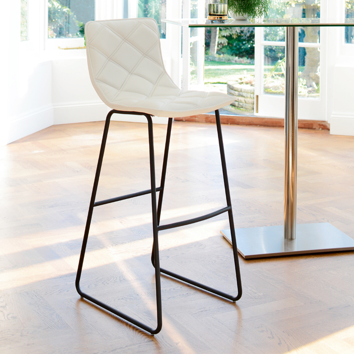 Portela bar stool white