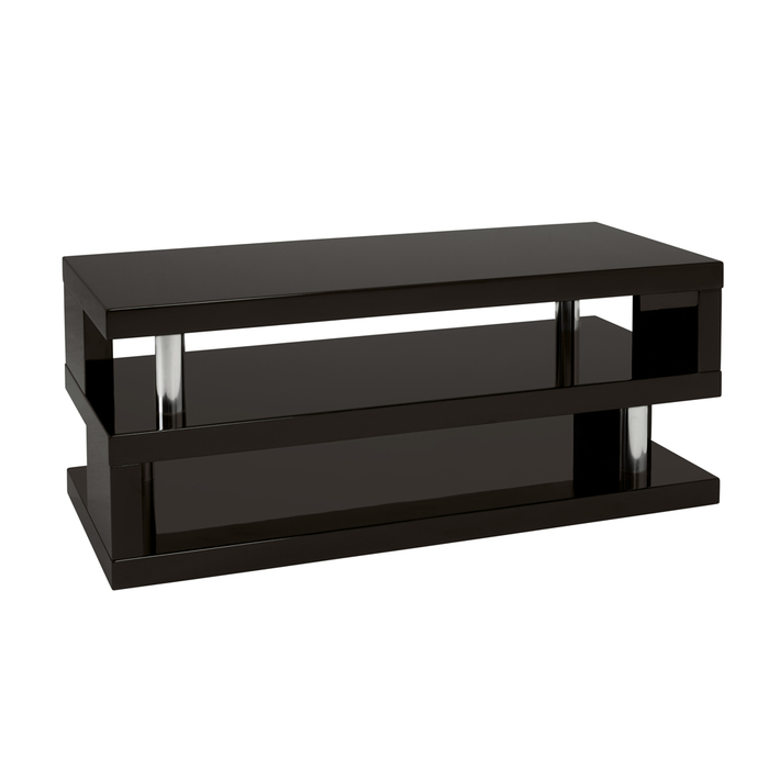 Contour coffee table black