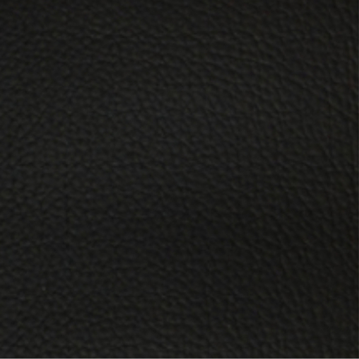 Fabric sample for black leather - Vienna range