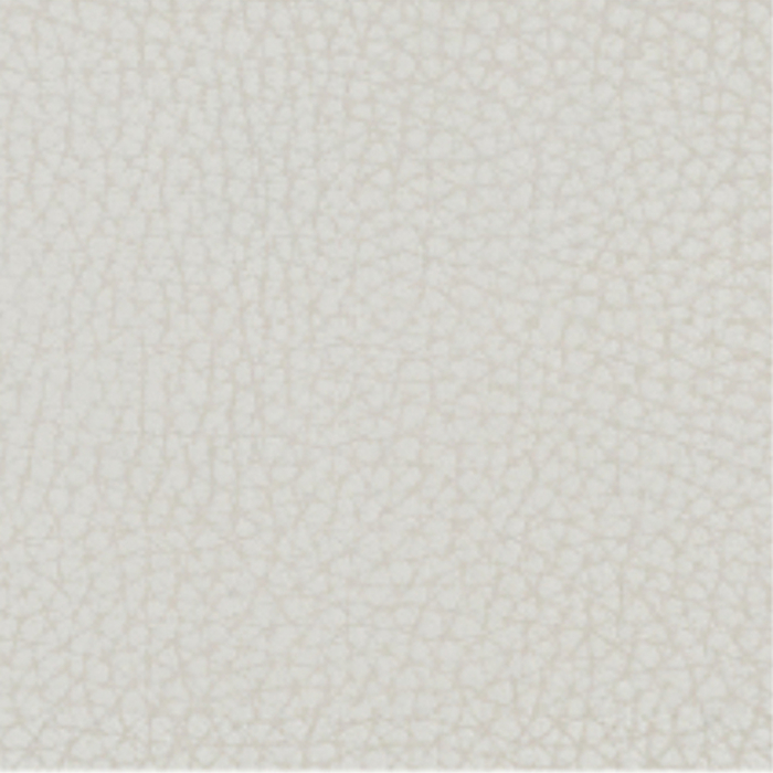 Fabric sample for brilliant white faux leather - Oslo range