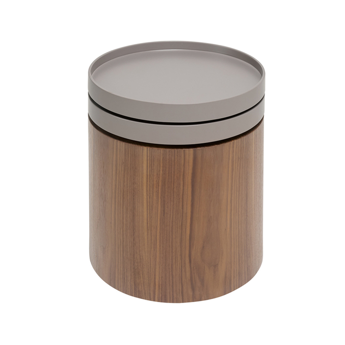 Tourne rotating top side table