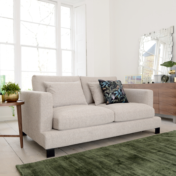 Lugano two seater sofa sand