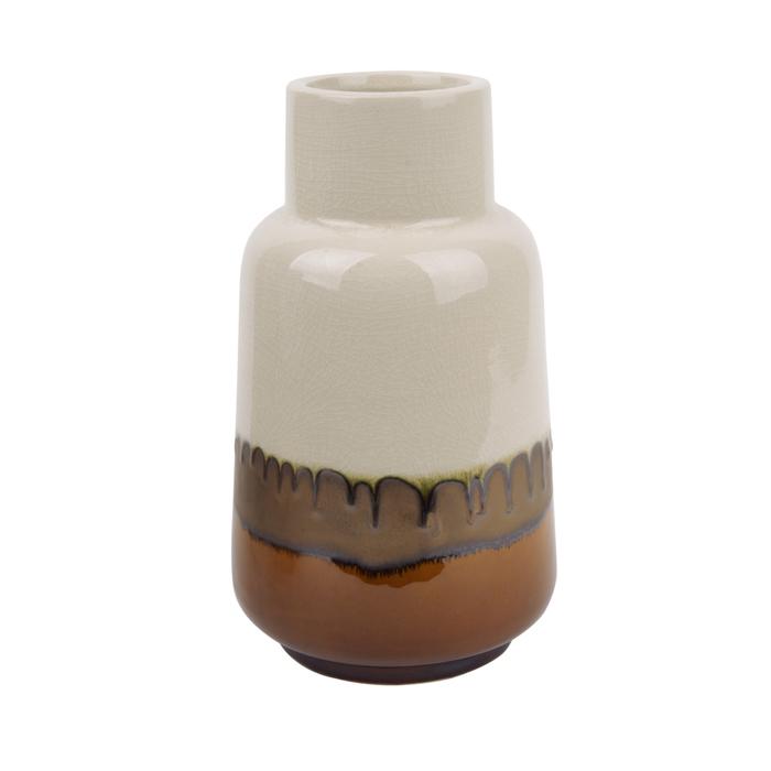 Rustic ceramic vase