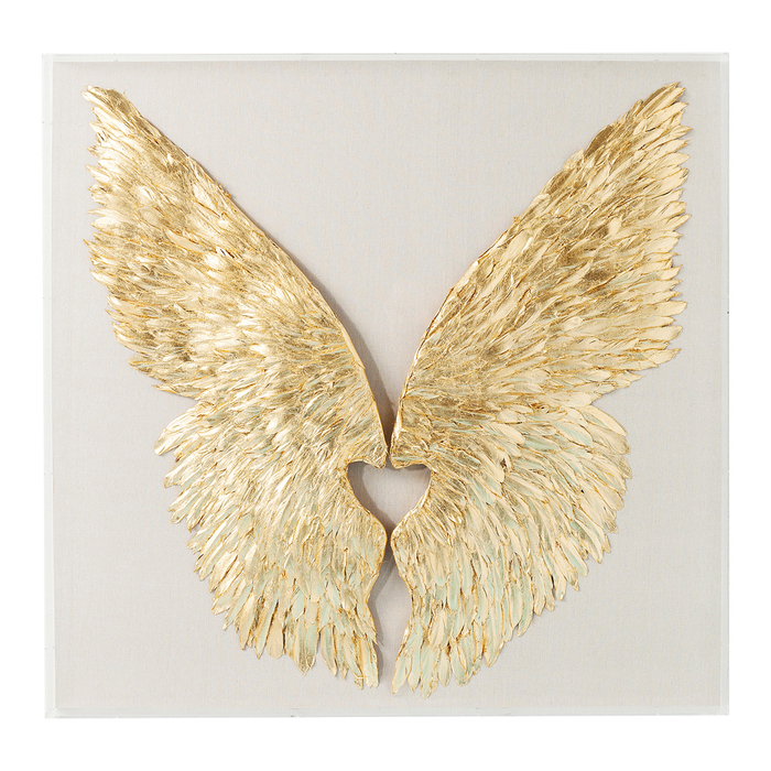 Wings feather art