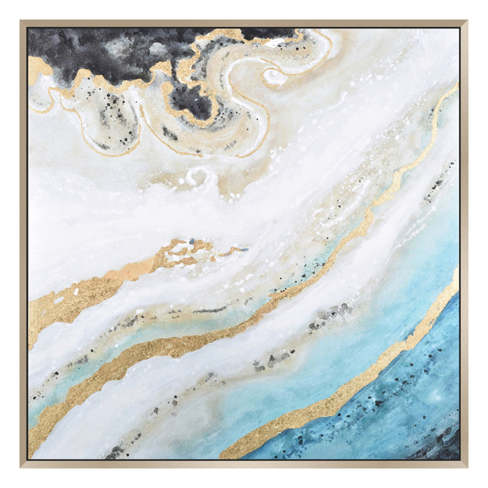 Marble ocean art