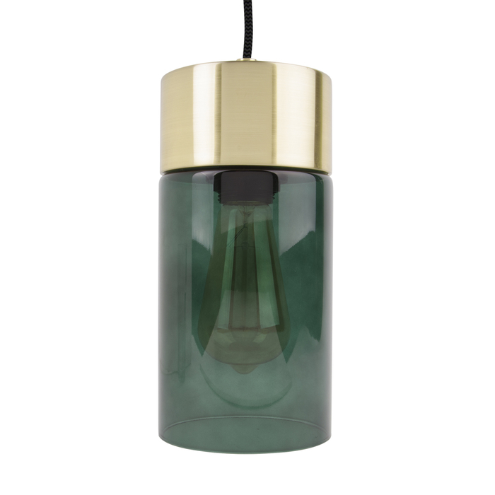Tinte pendant light dark green