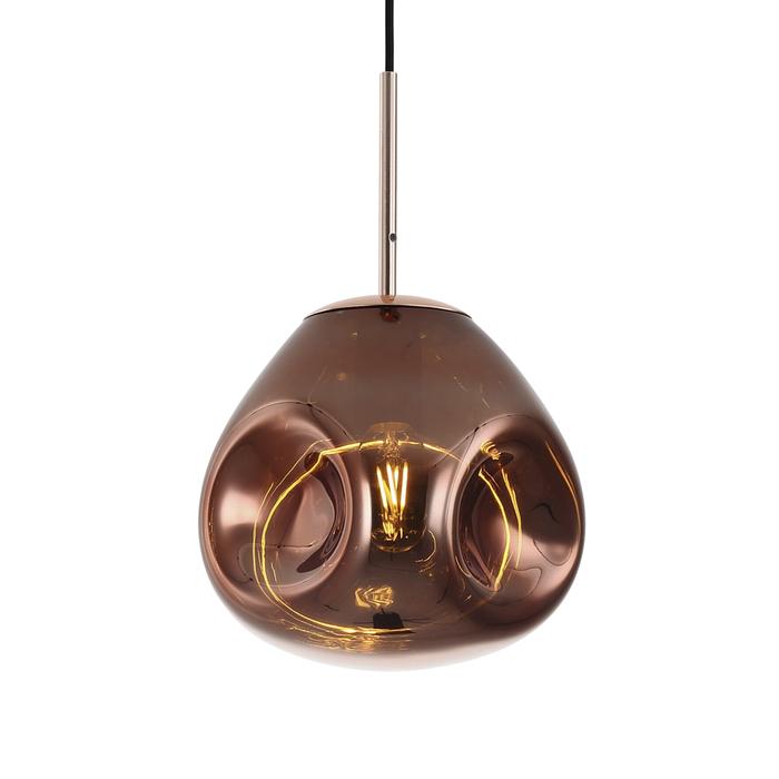 Canite pendant light rose gold