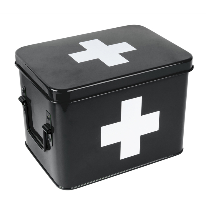 Metal medicine storage box