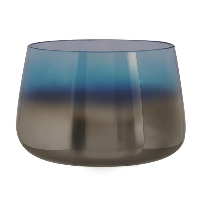 Mergo vase round blue
