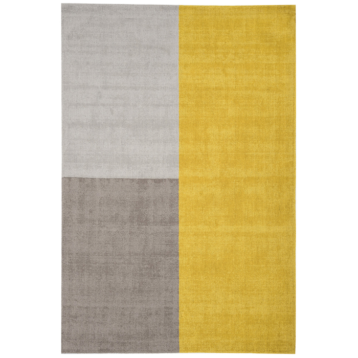 Blocks rug medium mustard