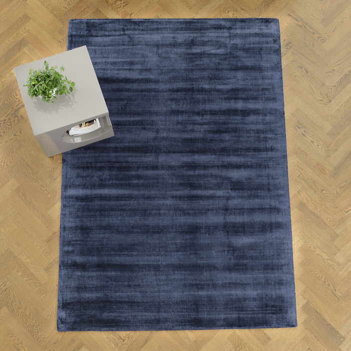 Lancet rug large navy