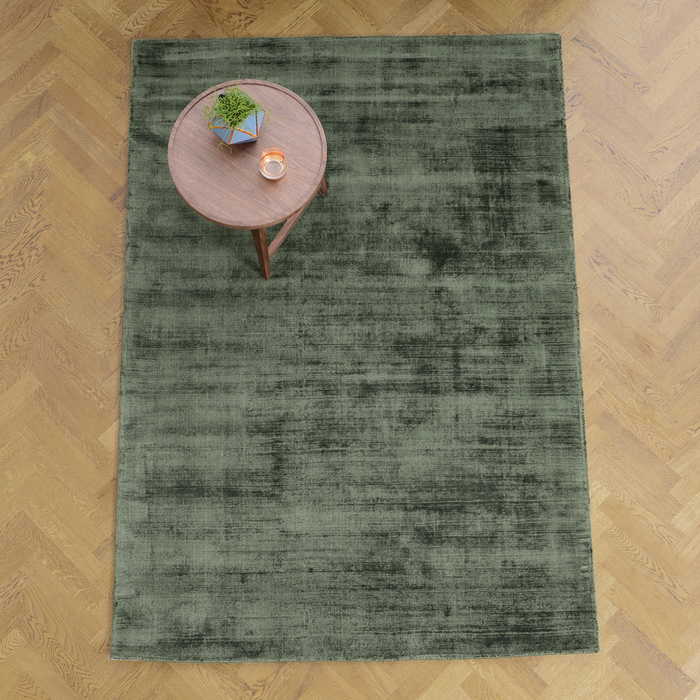 Lancet rug large green