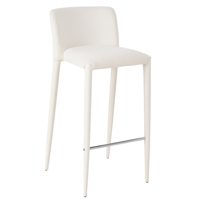 Sensational Svelte Bar Stool White Dwell 129 Ncnpc Chair Design For Home Ncnpcorg