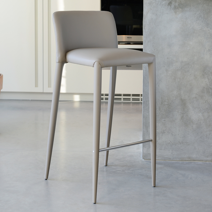 Svelte bar stool stone