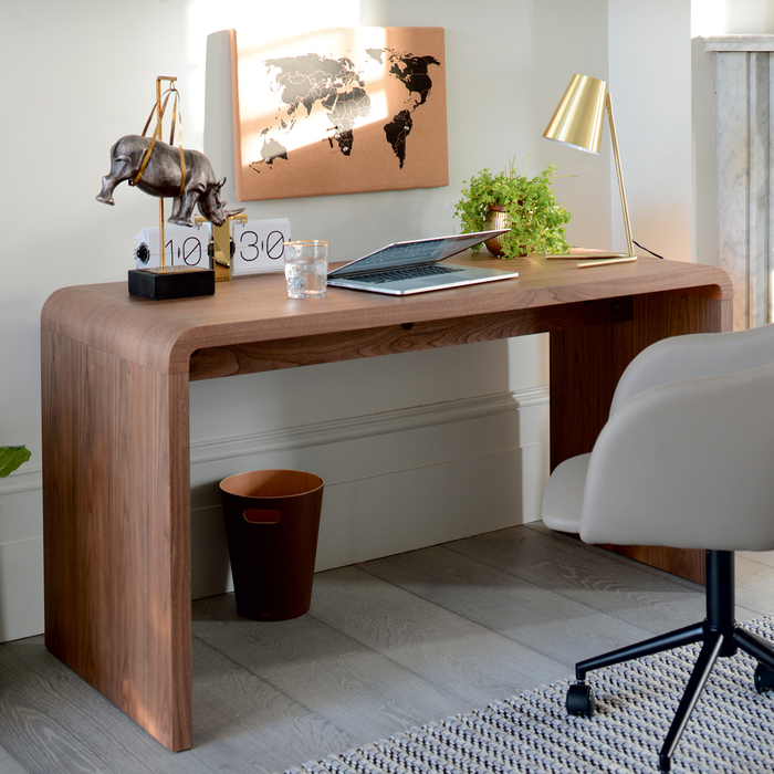 Hudson desk walnut