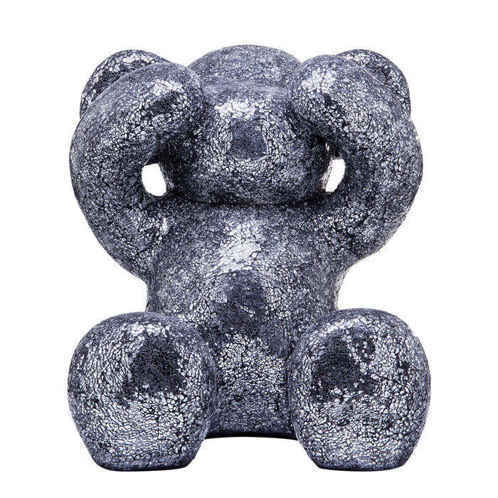 Crystal bear figure