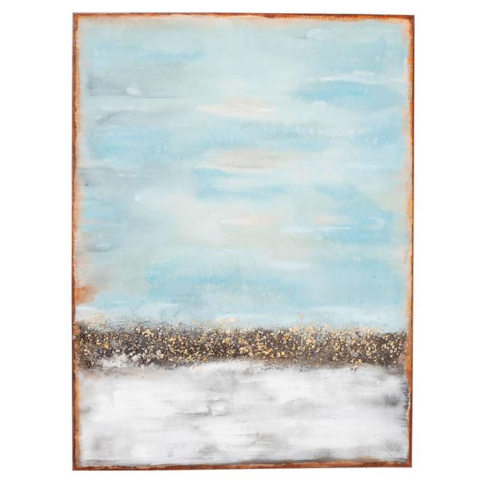 Coast horizon oil painting art