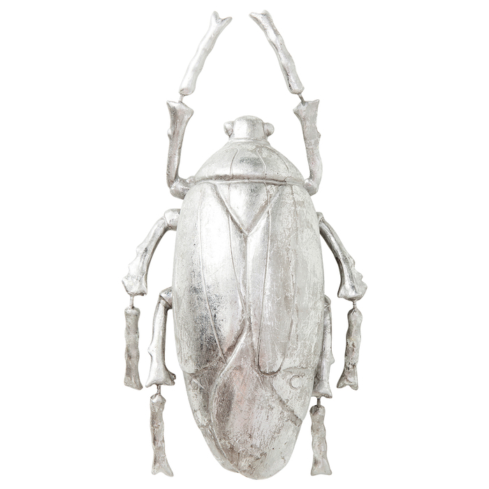 Beetle figure silver small