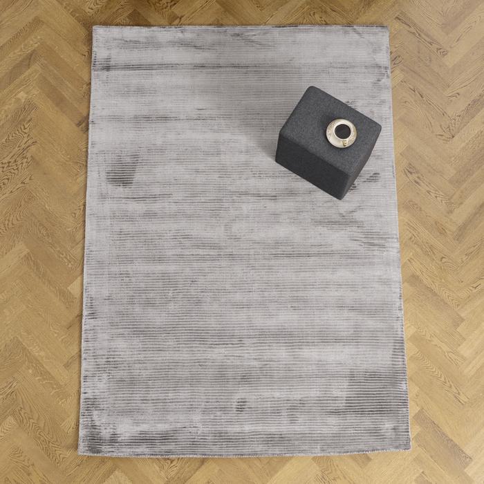 Forette rug large zinc