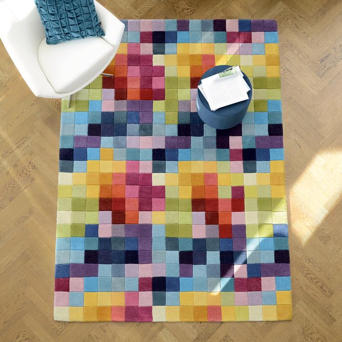 Pixel rug large