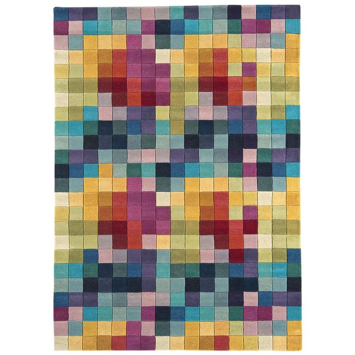 Pixel rug medium