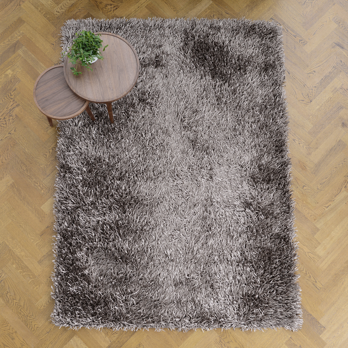 Spike rug medium gunmetal