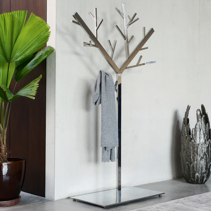 Tree coat stand chrome