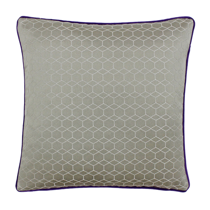 Figura cushion purple and taupe