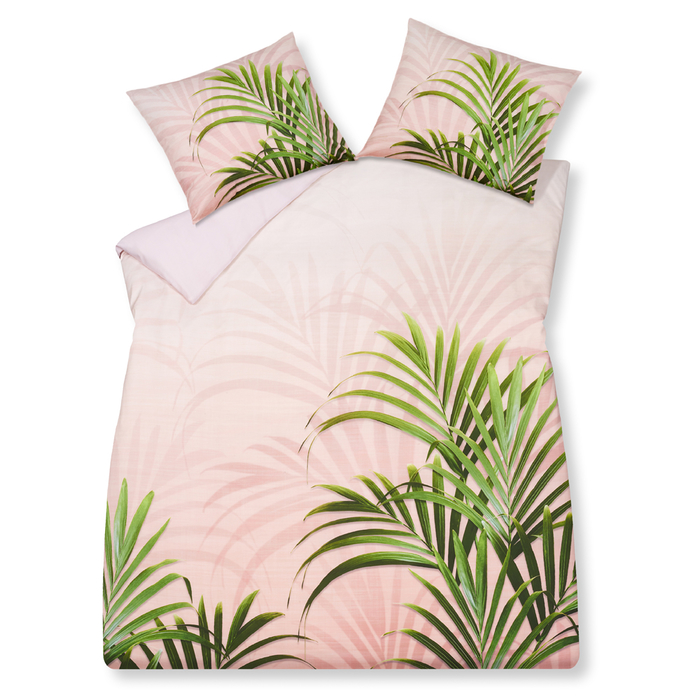 Palm trees duvet det double