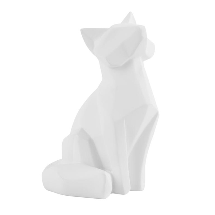 Fox figure white