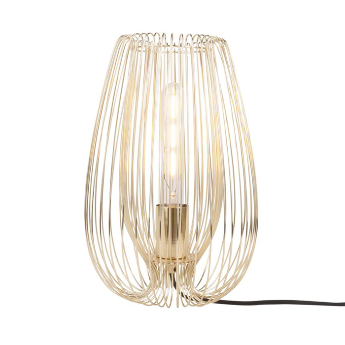 Strand table light gold large