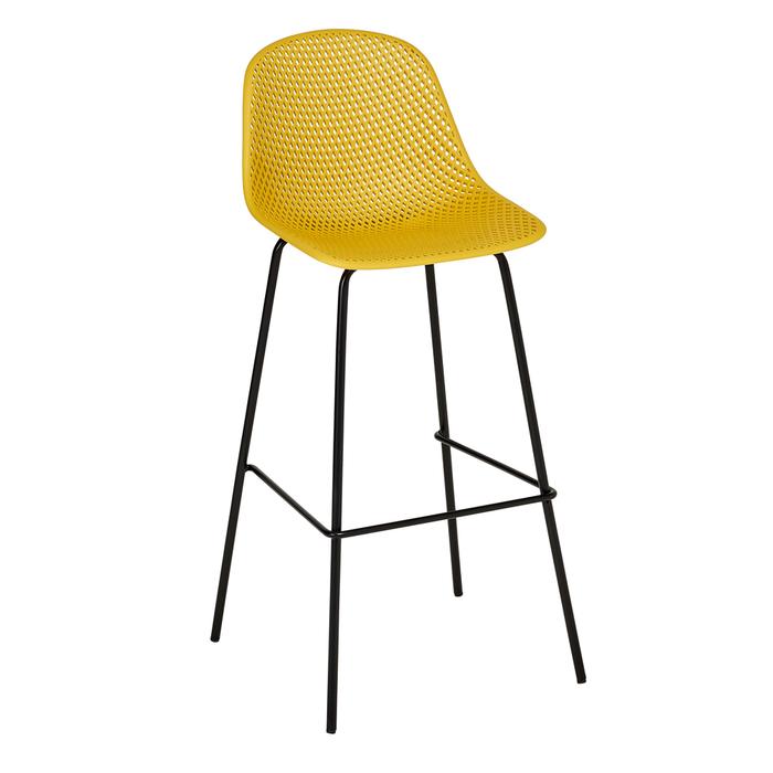 Malla bar stool mustard