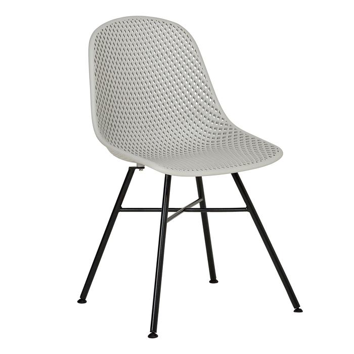 Malla dining chair grey